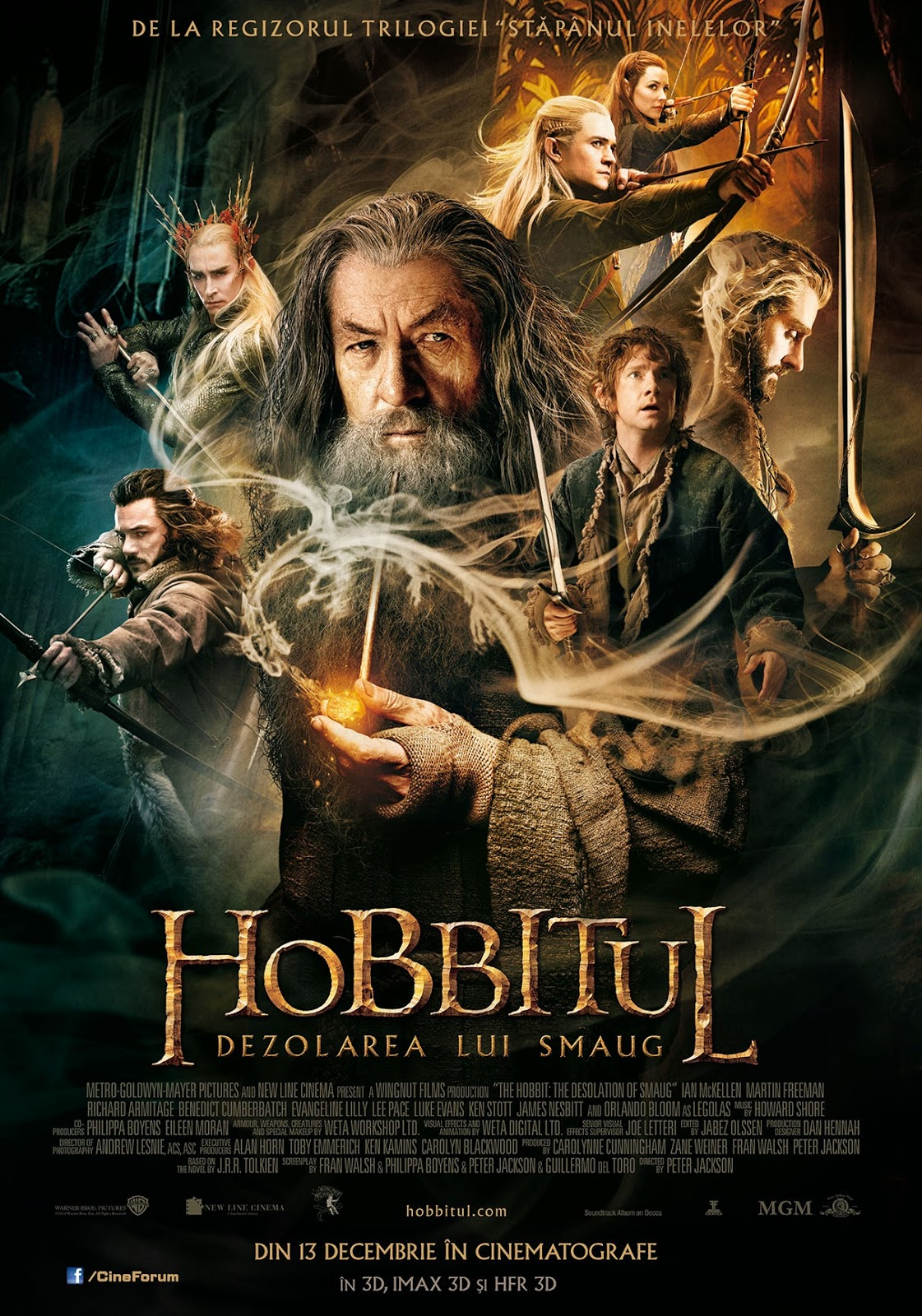 The Hobbit: The Desolation of Smaug (2013) Online Subtitrat | Filme Online