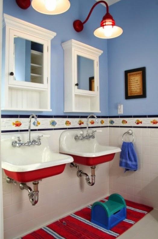 Baños Infantiles Diseno:Preciosas Ideas de Diseño de Baños para Niños : Baños y Muebles