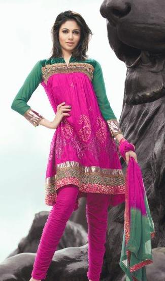 Vikrish Boutique Fashion Tips How To Look Slimmer On Your Indian Clothing