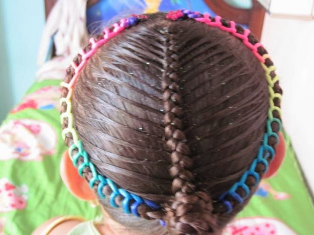 Moda para Peques: Peinados con trenzas para niñas!!!!