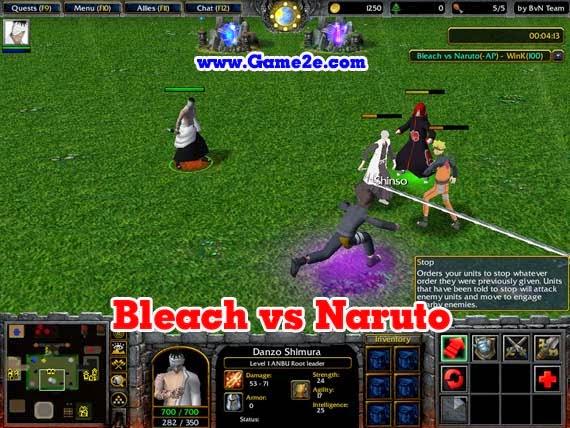 Bleach vs naruto скачать