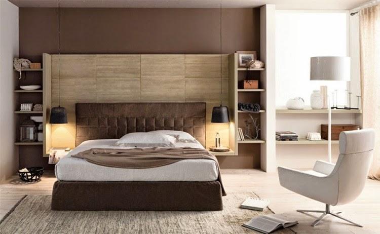 Legno da creativo letto Camera : Oggi : A parte un letto (su cui non abbiamo badato a spese) in pelle ...