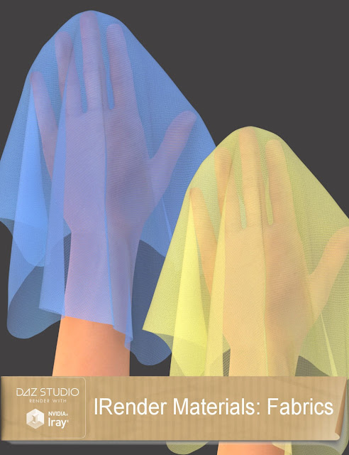 IRender Materials: Fabrics, Materials and Dirt