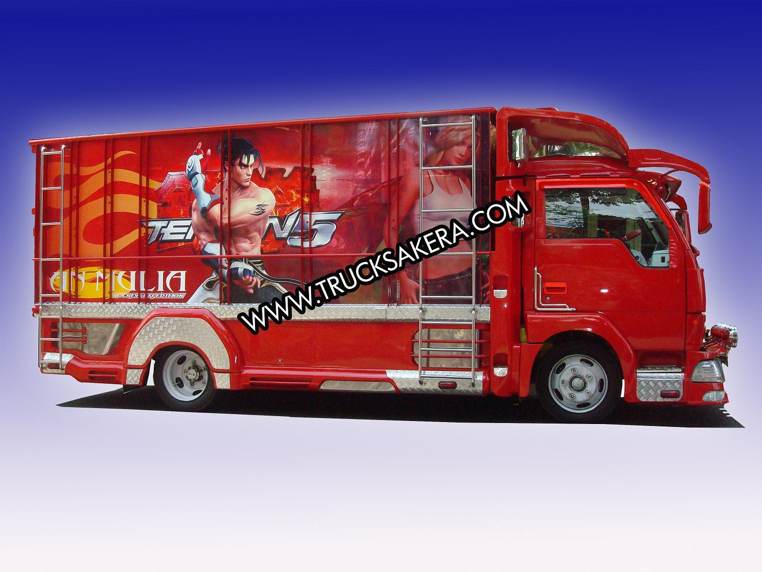 L300 Full Variasi >> Foto gambar mobil full variasi truk canter keren modifikasi truk canter ceper bemper bak terbaru ...