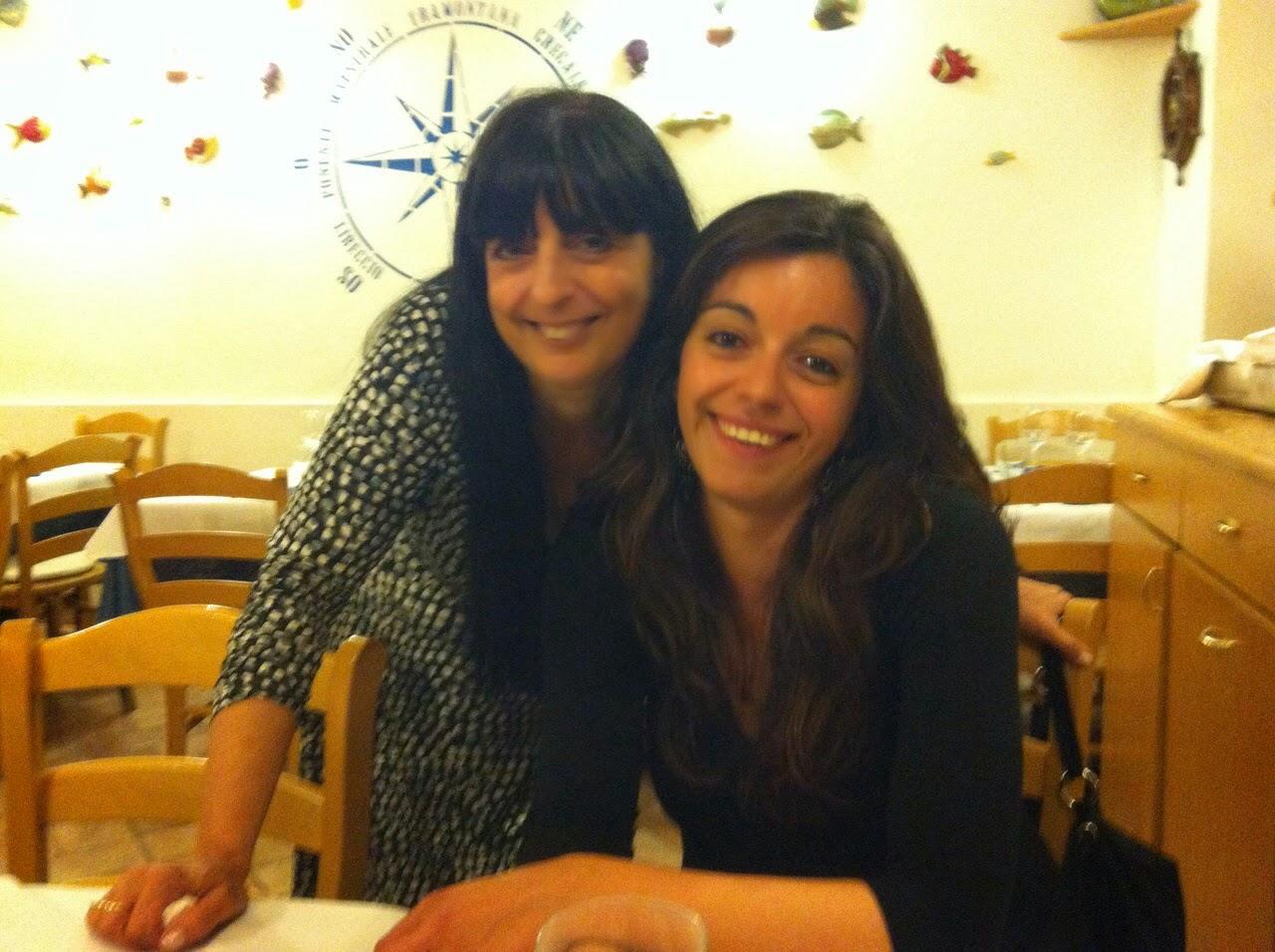 Mia figlia Francesca ed io