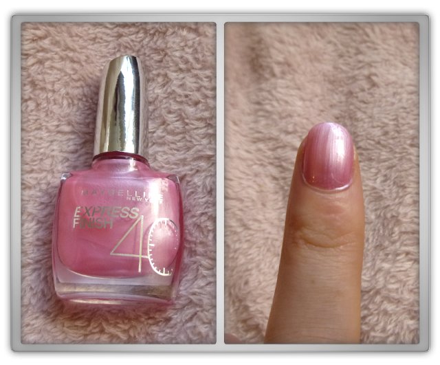 Maybelline - Express finish 40 sec - 143 Pearly pink