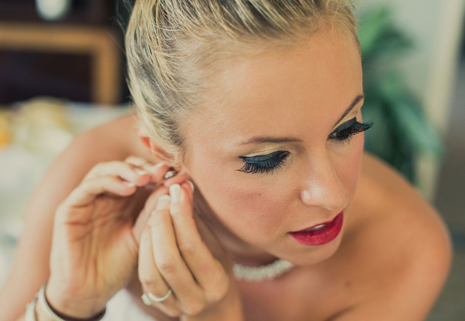 Glamorous Bridal Makeup From Start To Finish : Glamorous New Orleans Wedding by Joie du Jour Photography ...