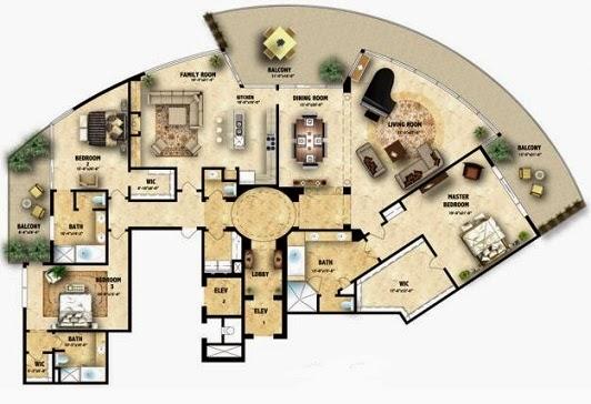 Dise o arquitectonico esquema arquitect nico for Elementos de un plano arquitectonico
