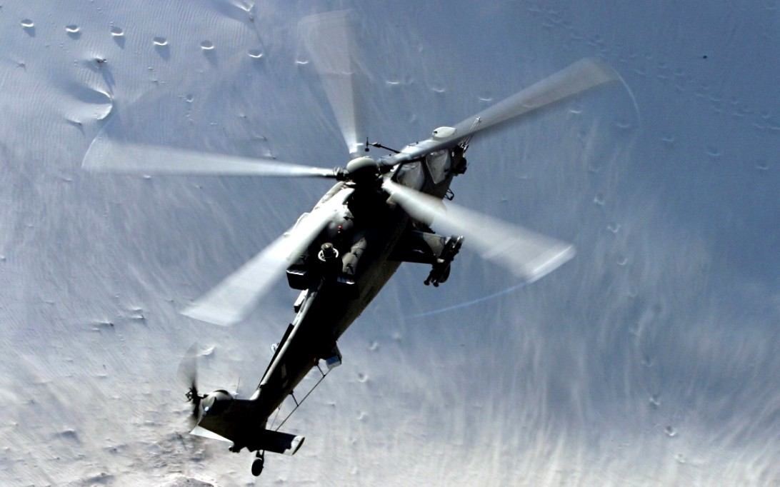 A129 Mangusta, Attack Helicopter Wallpaper 2