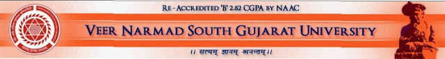 B.Ed. VNSGU March 2015 Result
