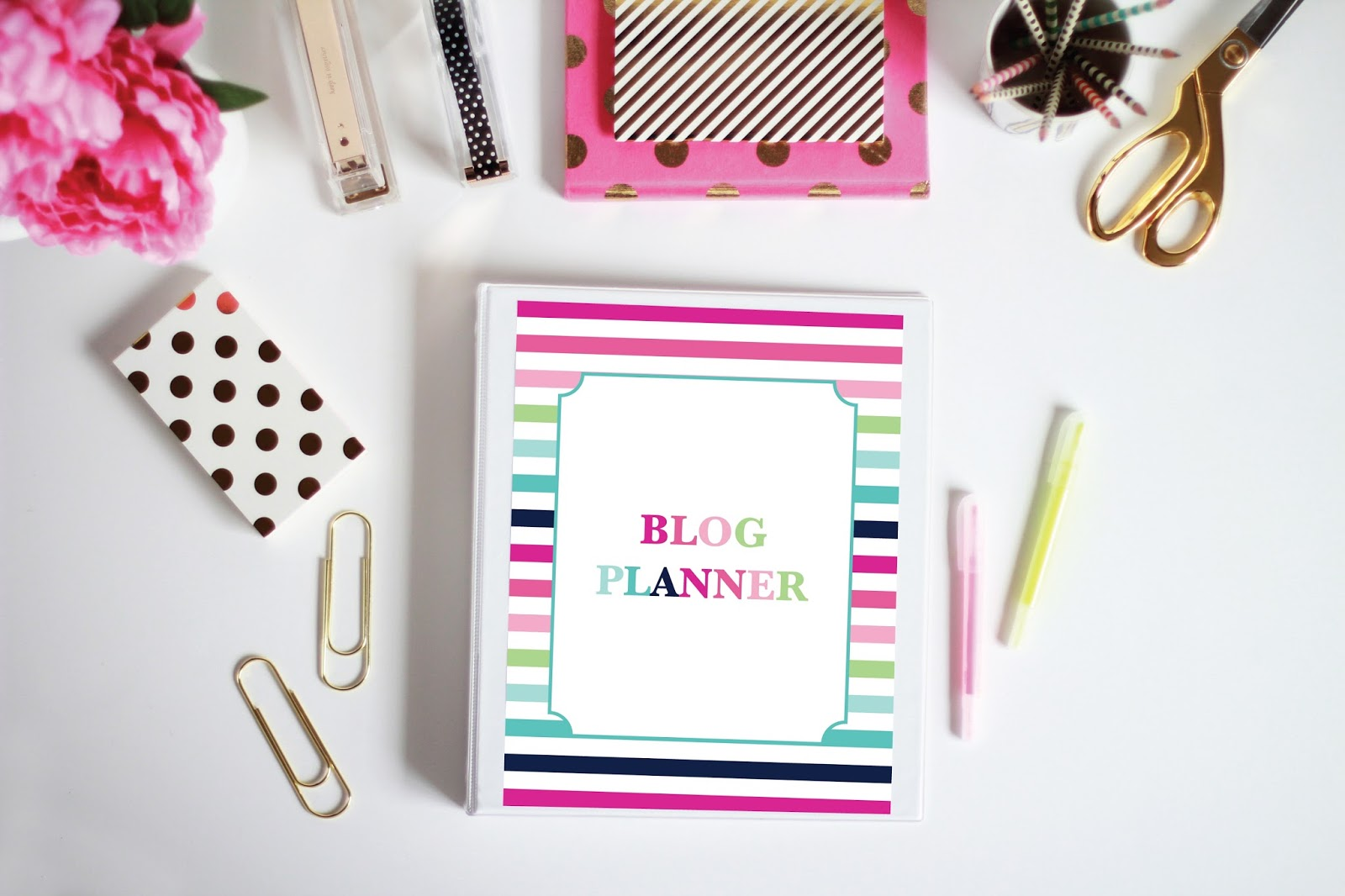 Printable Blog Planner by Jessica Marie Design