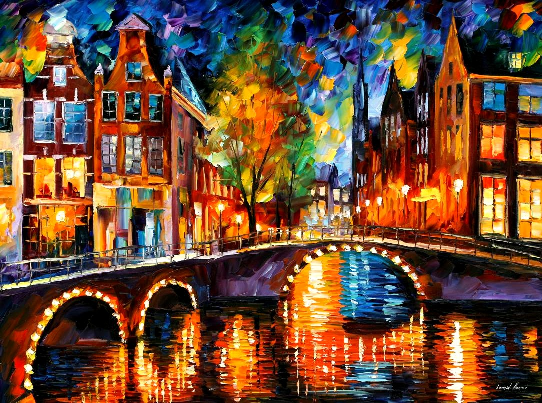 Leonid afremov beautiful paintings fine art and you for Photos to paint