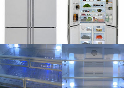 Beko state of the art refridgerator, appliancesonline.com, purchasing appliances on line.