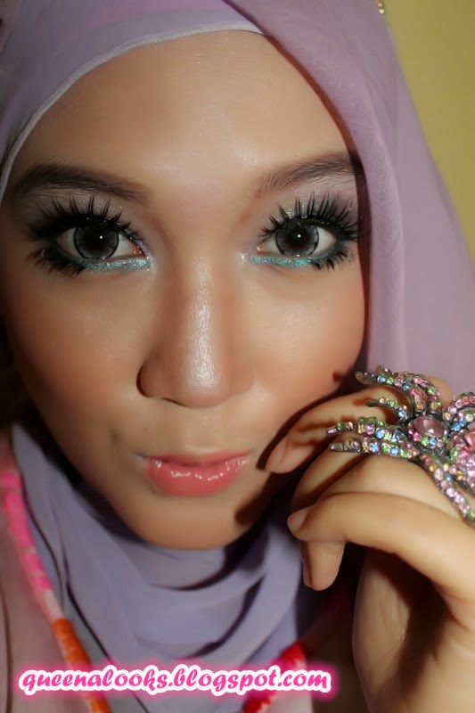 QueenaLooks IBB Make Up Challenge January 2014 With