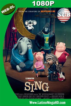 Sing: ¡Ven y canta! (2016) Subtitulado HD WEB-DL 1080P ()