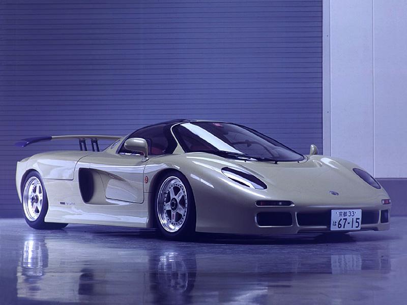 Jiotto Caspita, japoński prototyp, koncept, supercar, JDM, japanese, sportowy samochód, Dome, Wacoal, 日本車, スポーツカー, スーパーカー, ジオット キャスピタ, Judd V10