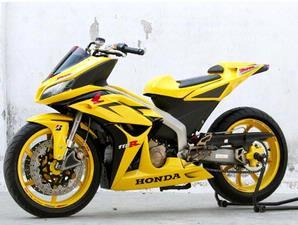 bagaimana Bro/Sis tentang Gambar modifikasi motor Honda blade Terbaru  title=