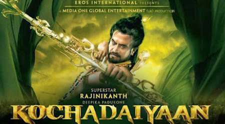 Poster Of Hindi Movie Kochadaiiyaan (2014) Free Download Full New Hindi Movie Watch Online