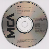 Dupont - Hurricane (Promo CDS) (1990)