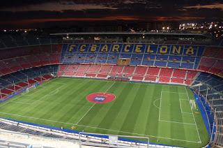 susunan pemain Barcelona