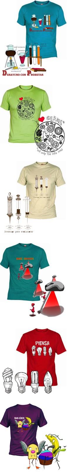 camisetas Estudiorama
