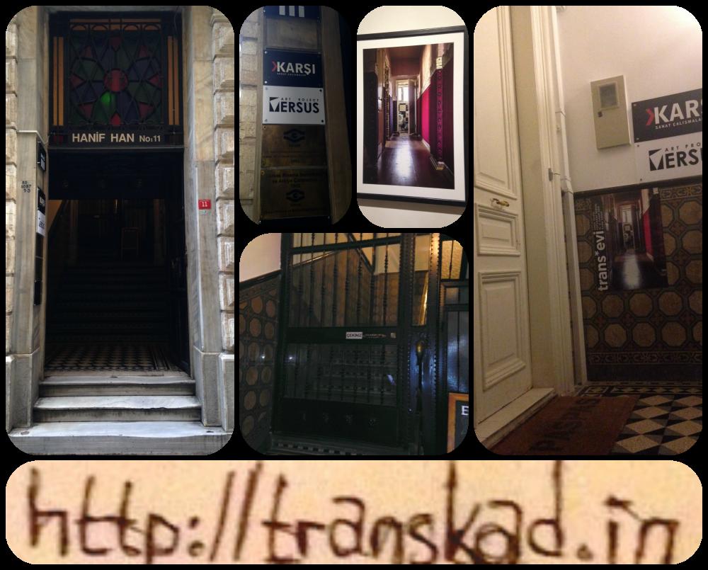 ömer tevfik trans evi sergisi karşı sanat evi