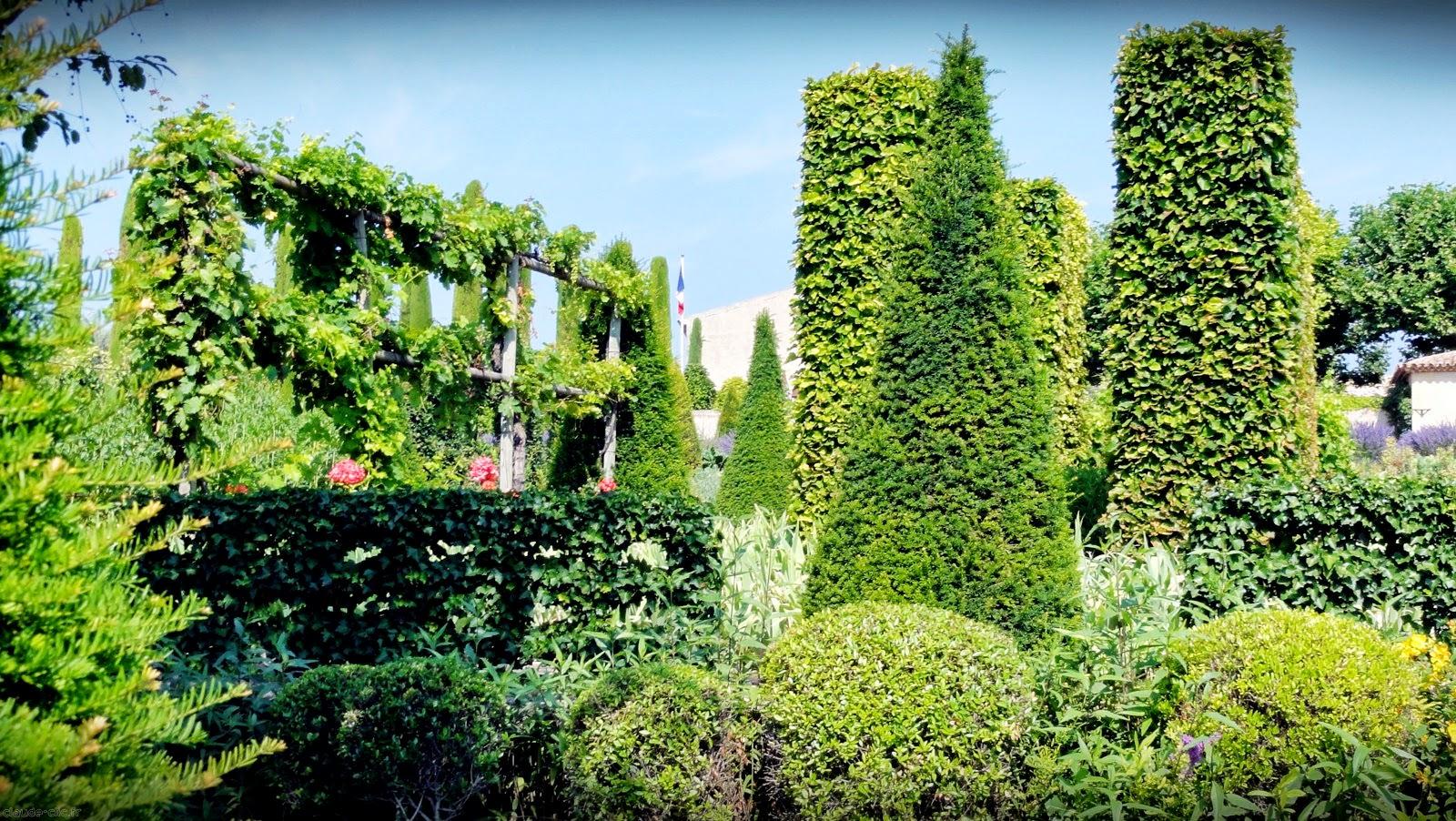 N 5 jardin de val joanis a pertuis for Jardin val de saone