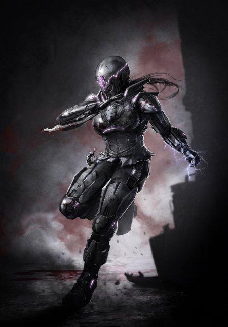 vincent ptitvinc deviantart ilustrações artes conceituais fantasia futurista robôs tecnologia Novo pesadelo robótico