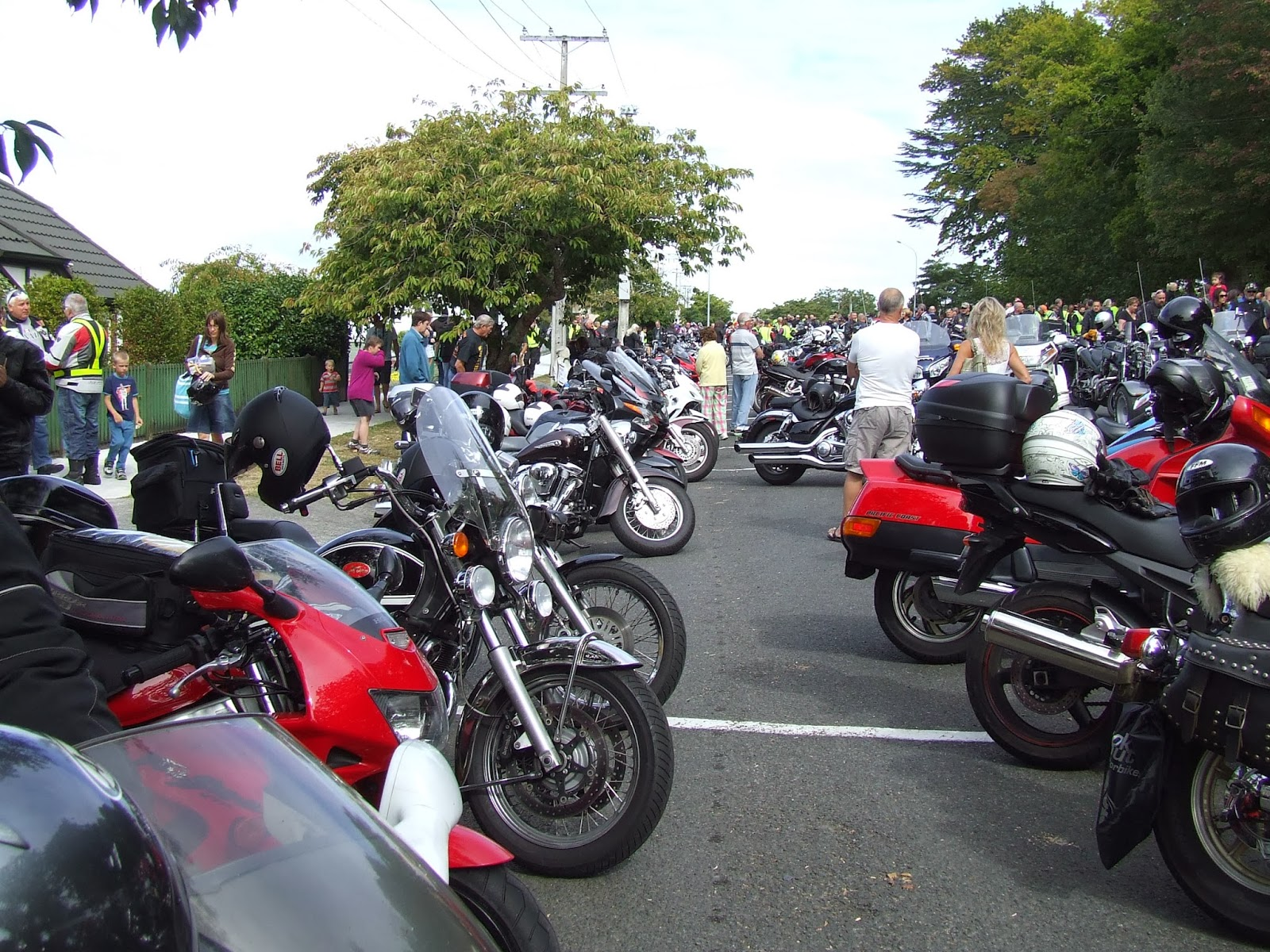 Toy Run Ulysses Waikato Chapter Cambridge - Hamilton NZ DSCF2887