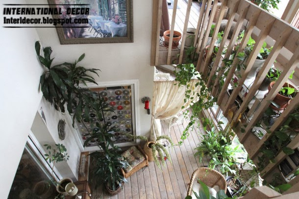 winter garden decorating ideas and trends, miniature trees