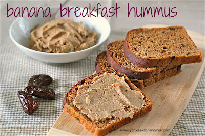 banana breakfast hummus