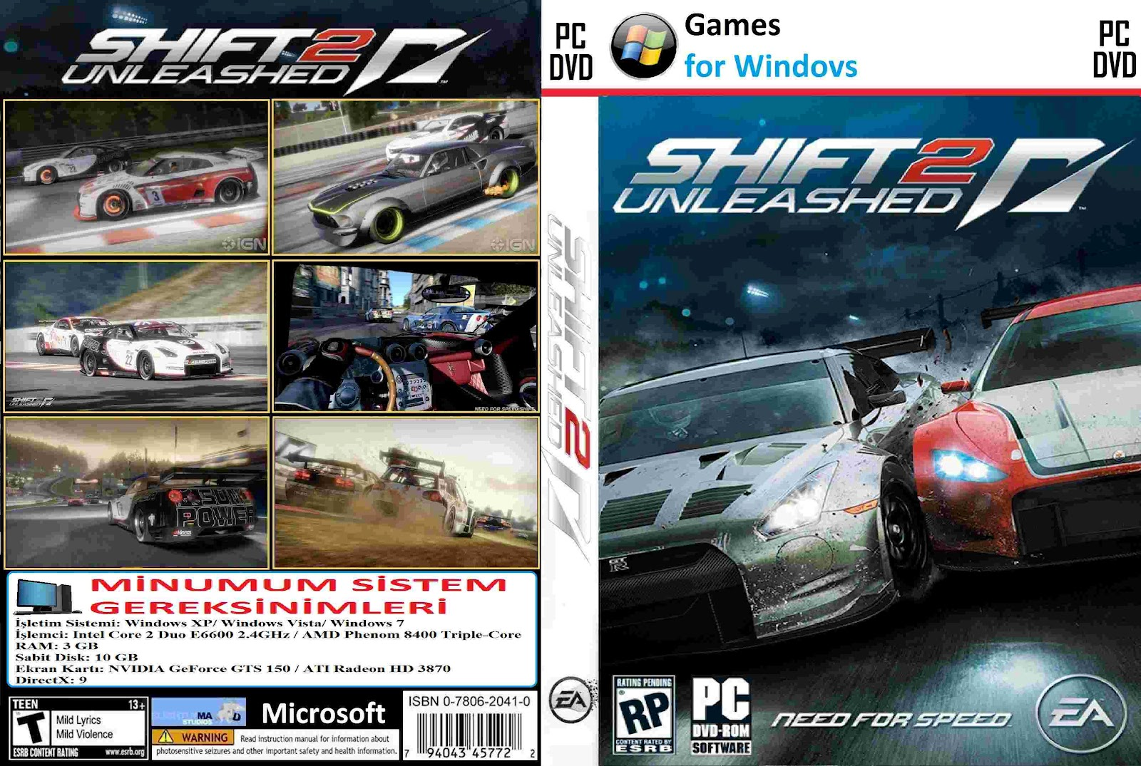Скачать торрент need for speed shift 2 unleashed mods dlc.