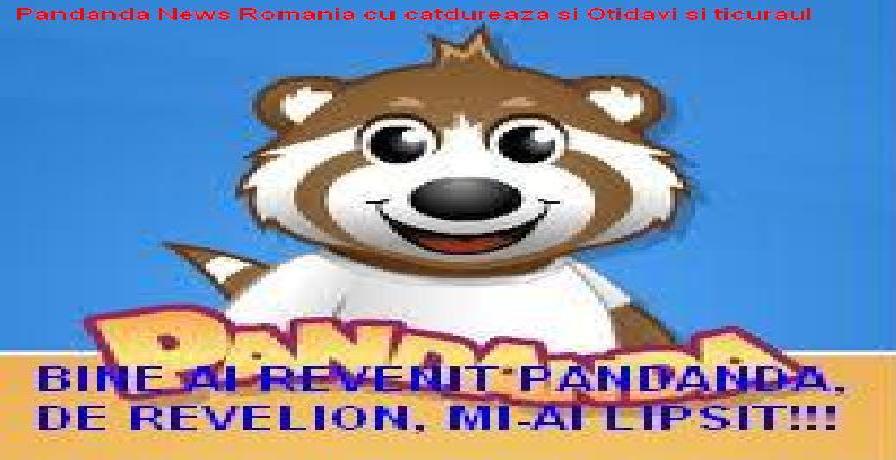 Pandanda News Romania cu catdureaza si Otidavi si ticuraul
