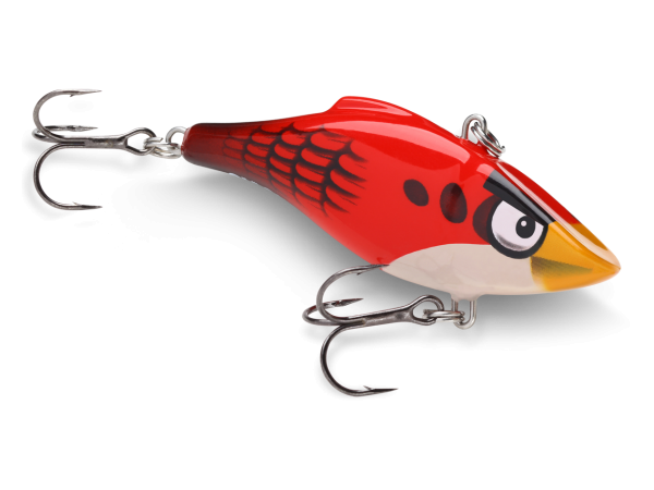 Rapala world news rapala and angry birds for Fishing with jigs
