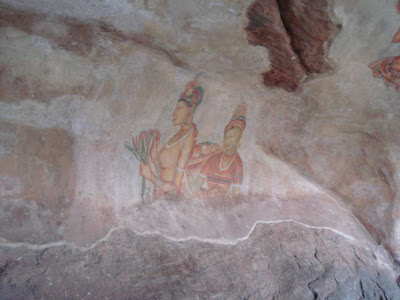 Sigiriya Painting Frescoes