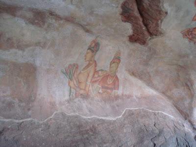 Sigiriya Painting Frescoes