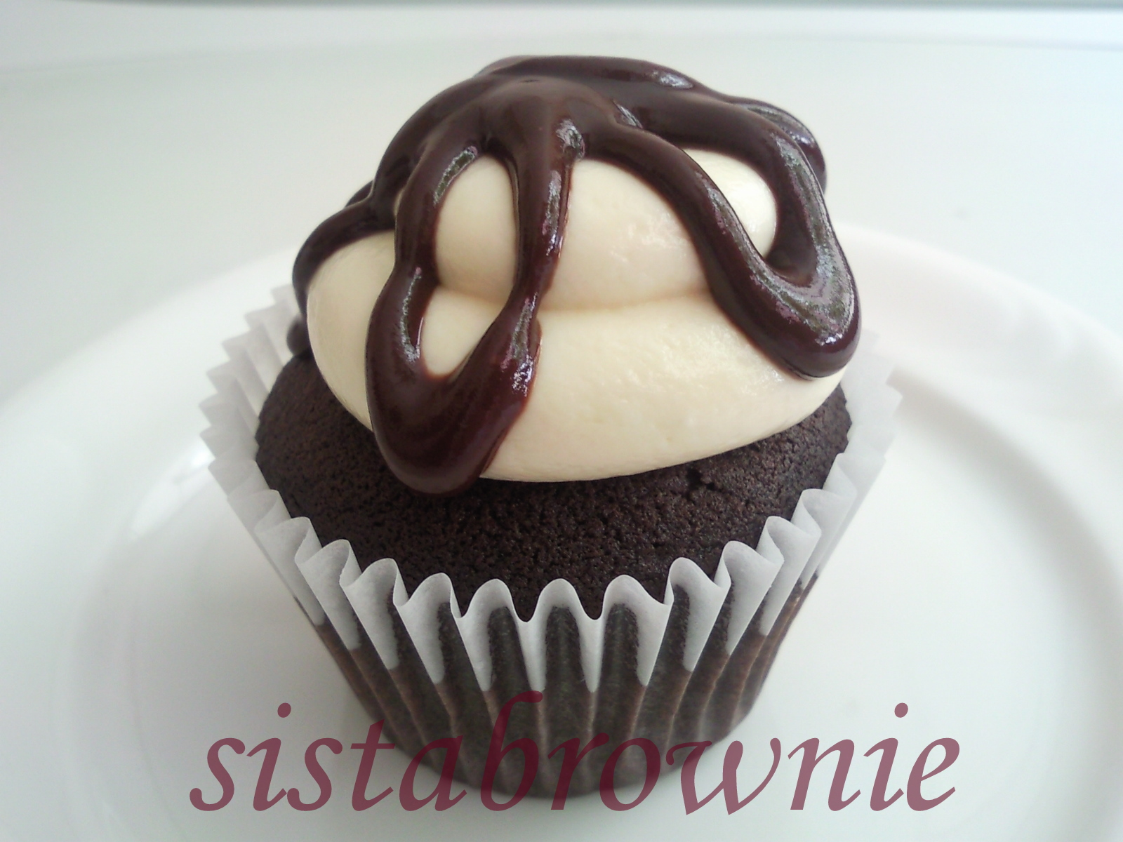 Sistabrownie for Chocolate fudge cream cheese frosting