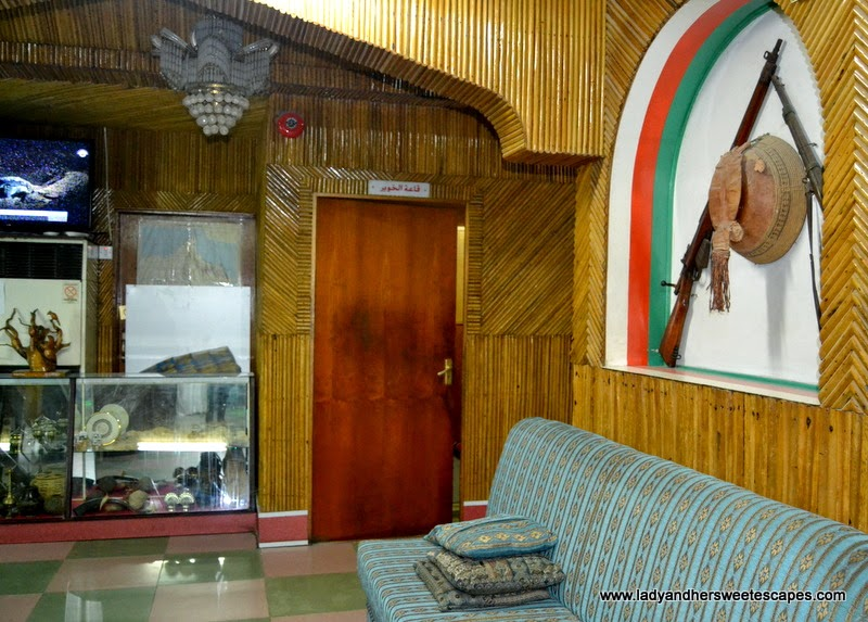 traditionally decorated Bin Ateeq Restaurant in Al Khuwair