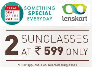 Vincent Chase Sunglasses Buy 2 @ Rs. 599