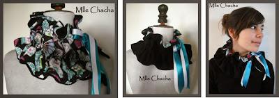 col écharpe bandeau polaire créateur, Bandeau, turban, ceinture, accessoire de mode, créateur,Mlle chacha, bandeau, col écharpe, turban, français, fait main,