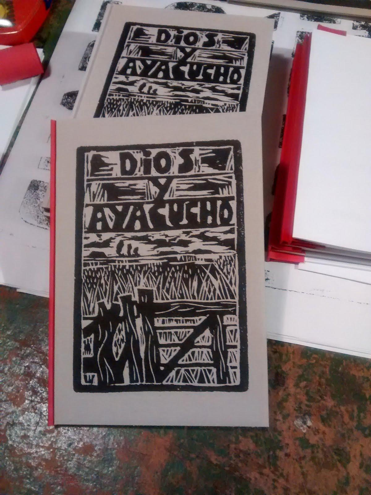 Dios y Ayacucho. Un libro con los versos del blog y un CD de música criolla