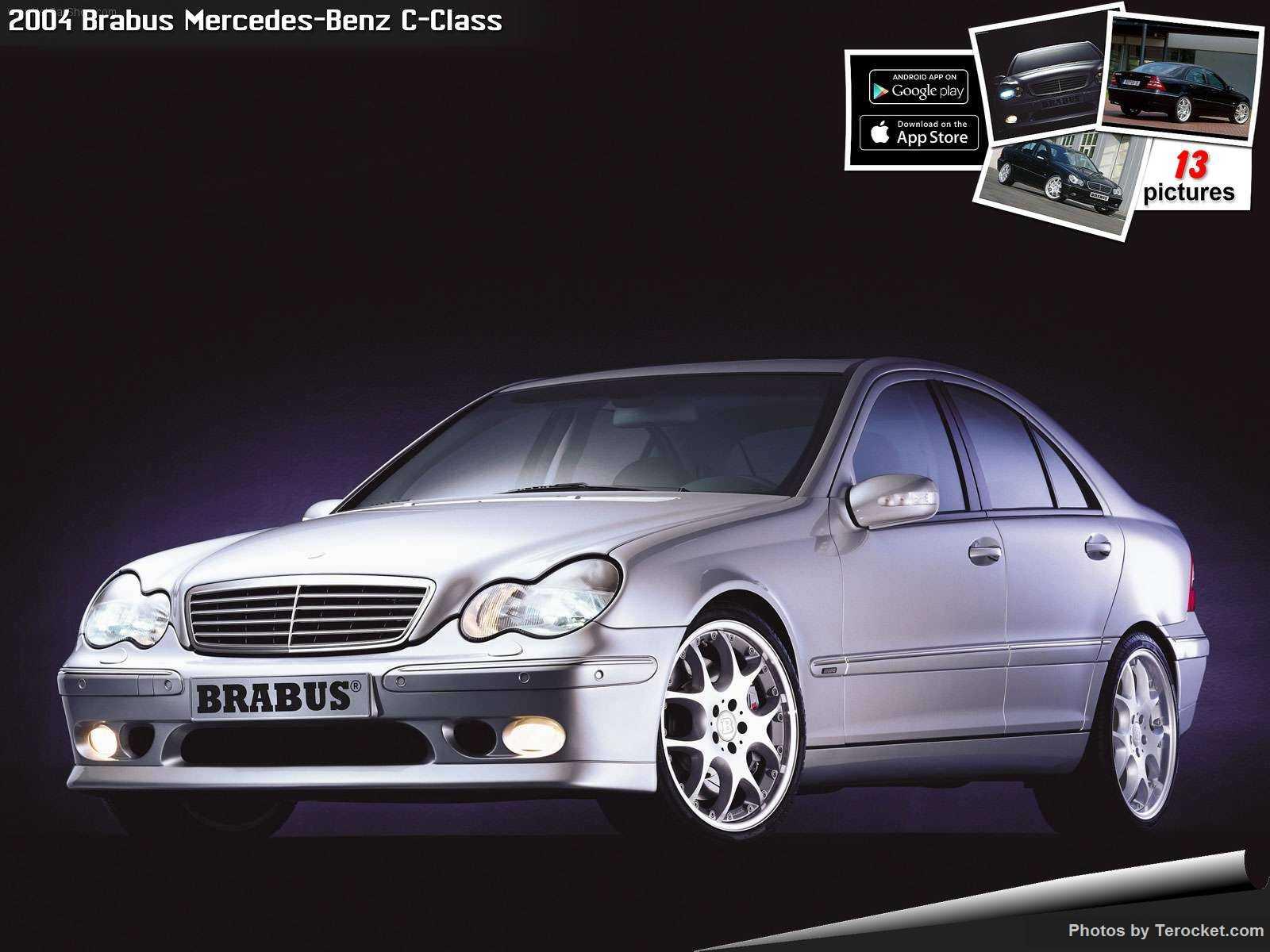 Hình ảnh xe ô tô Brabus Mercedes-Benz C-Class 2004 & nội ngoại thất