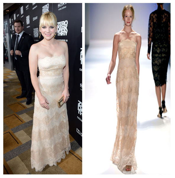 a filha do chefe anna faris Zero Dark Thirty premiere