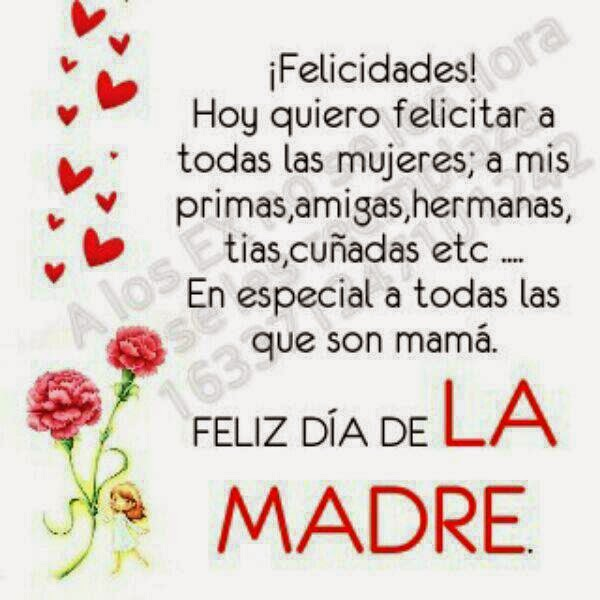 Happy Mothers Day Quotes In Espanol. QuotesGram