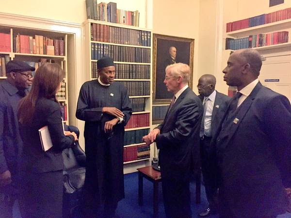 buhari lecture chattam house london