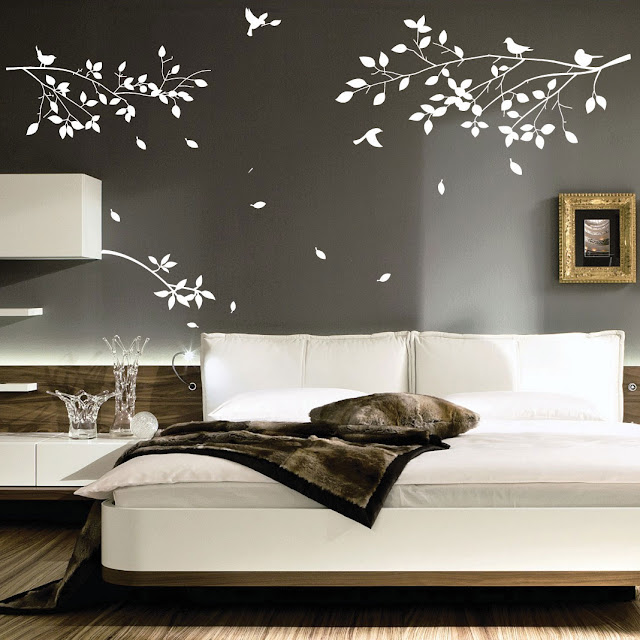 Awesome Stickers Muraux Pour Chambre Adulte #14: Dcoration Page With Stickers Chambres
