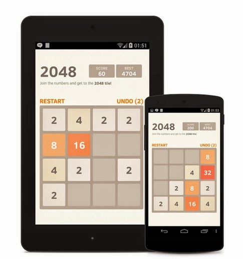 2048 for PC Windows 7, 8, XP Computer Free Download