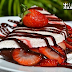 Tapioca Proteica de Morango com Chocolate