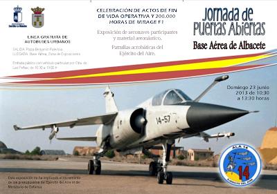 base aérea de Albacete. Jornada puertas abiertas