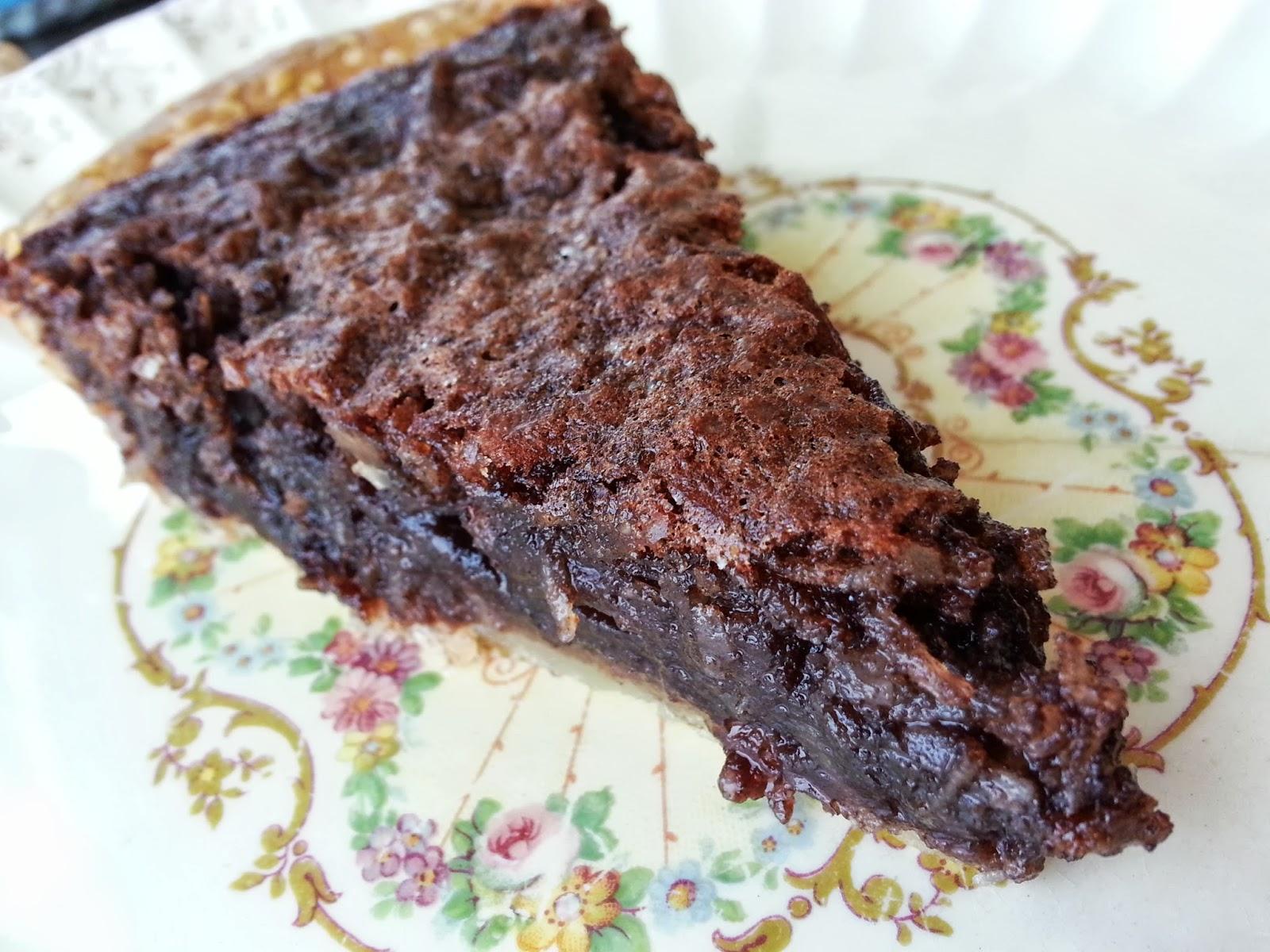 les douceurs de genny tarte au chocolat et noix de coco. Black Bedroom Furniture Sets. Home Design Ideas